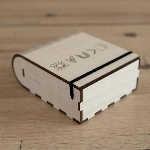 Handmade Basswood Gift Box- PERSONALIZED