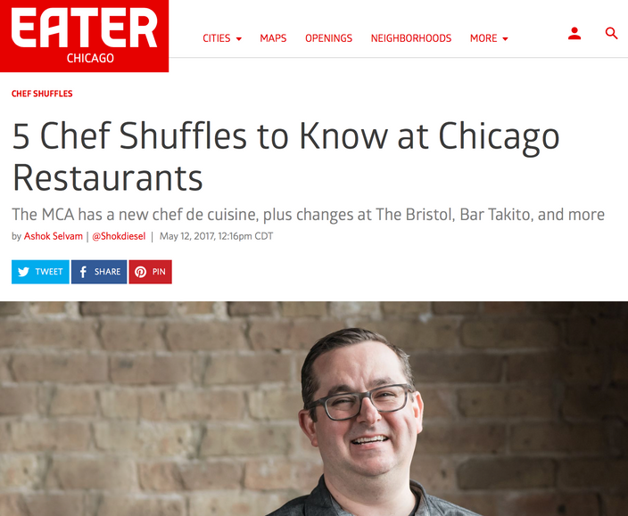 5 Chef Shuffles to Know at Chicago Restaurants