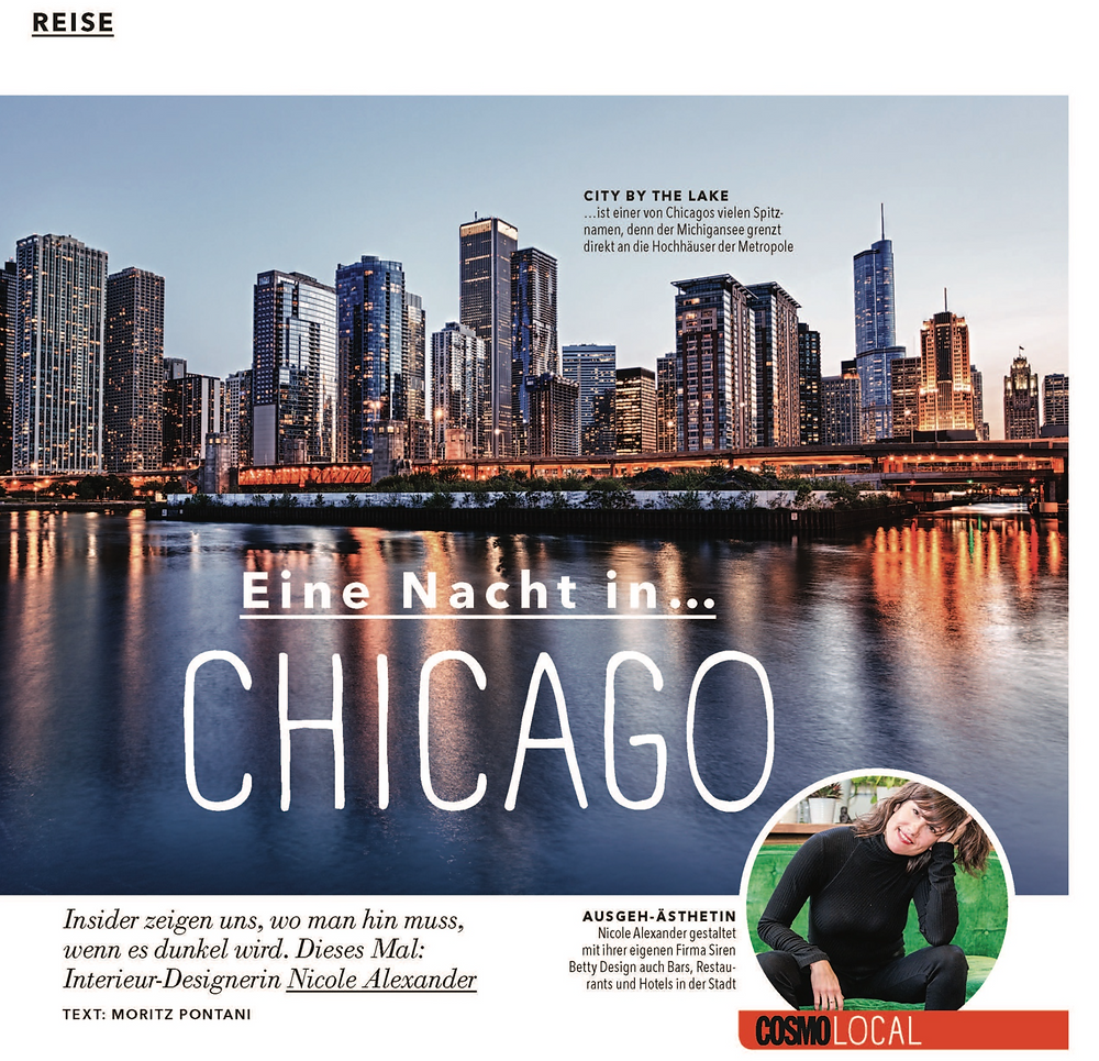 Eine Nacht in... A Night in...CHICAGO Cosmopolitan Germany featuring Disco Chicago as one of the Best Dance places to recommend for German tourists who visit in Chicago