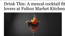 Drink This: A mezcal cocktail fit for Negroni lovers at Fulton Market Kitchen