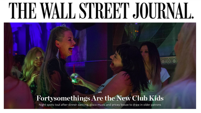 Fortysomethings Are the New Club Kids