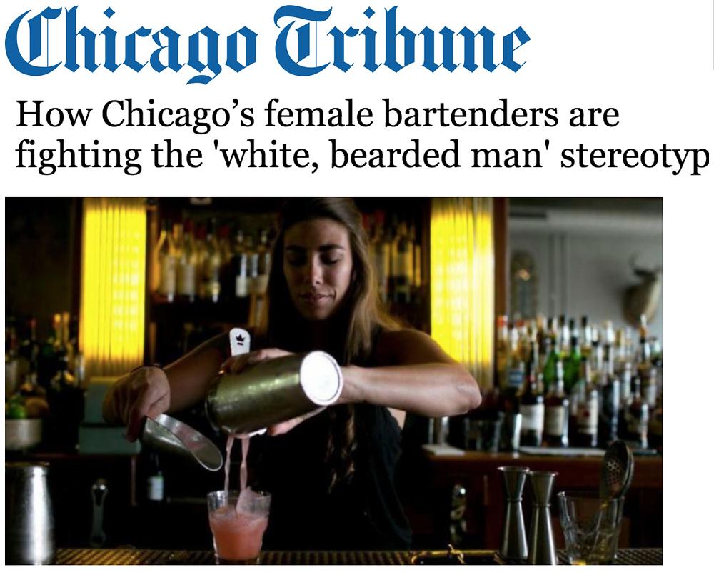 How Chicago's female bartenders are fighting the 'white, bearded man' stereotype like Carley Gaskin female bartender at Disco Chicago