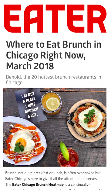 Behold Hottest Brunch Restaurants In Chicago