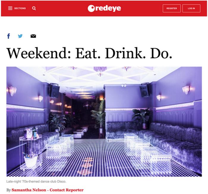 Weekend: Eat. Drink. Do.
