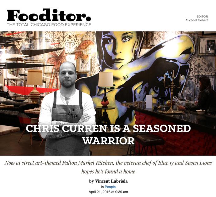 CHRIS CURREN IS A SEASONED WARRIOR