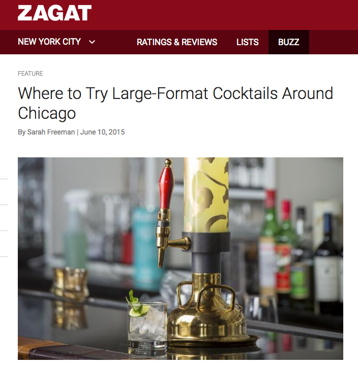 Where to Try Large-Format Cocktails Around Chicago