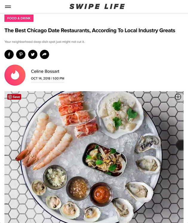 The Best Chicago Date Restaurants According To Local