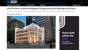 2019 Preview: 10 Most Anticipated Chicago Venues for Meetings and Events