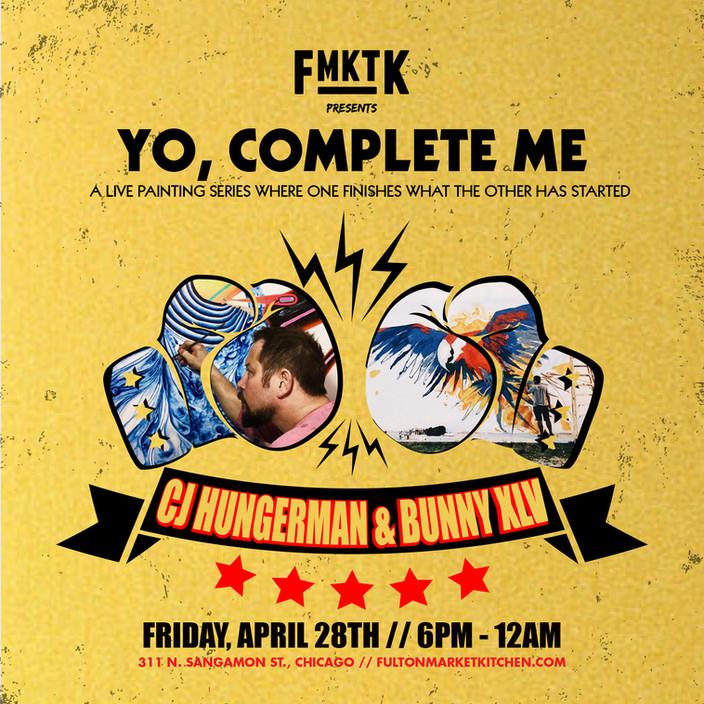 Yo, Complete Me | CJ Hungerman & Bunny XL