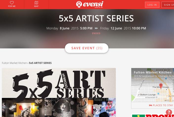 5x5 ARTIST SERIES