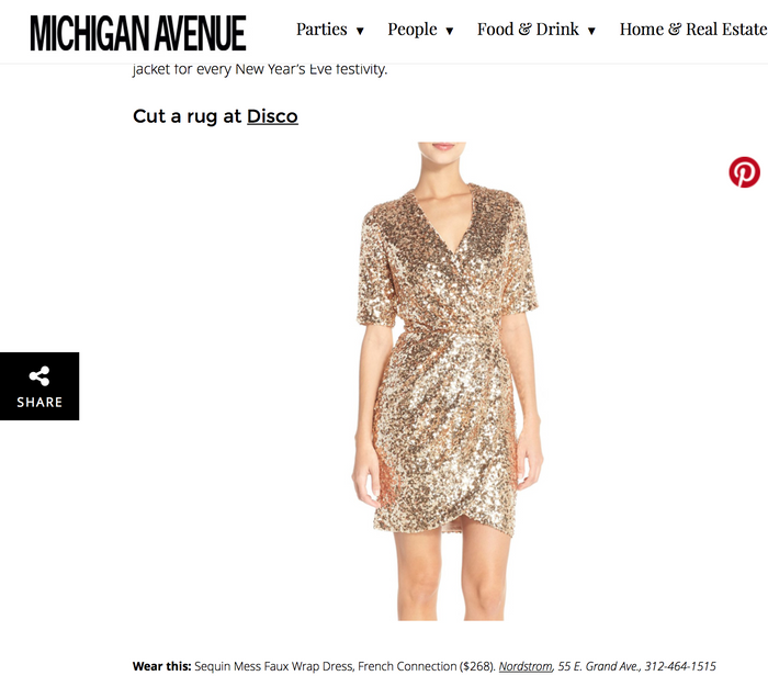 What to Wear to Chicago's Hottest New Year's Eve Events