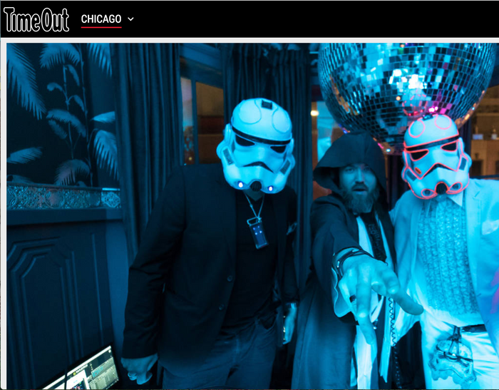 Dance at a 'Star Wars'-themed disco party after you see 'The Last Jedi'