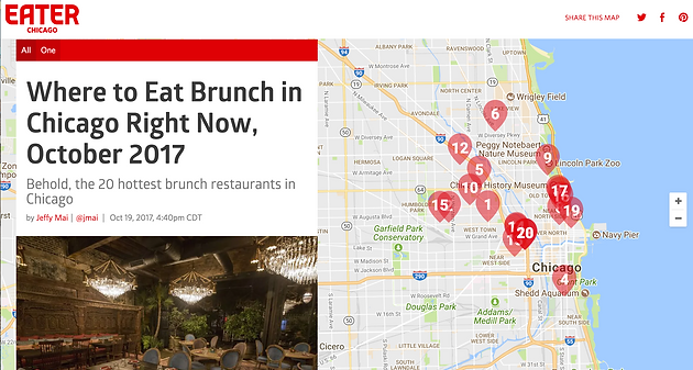 Where to Eat Brunch in Chicago Right Now October 2017 Welcome