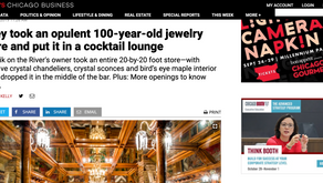 They took an opulent 100-year-old jewelry store and put it in a cocktail lounge