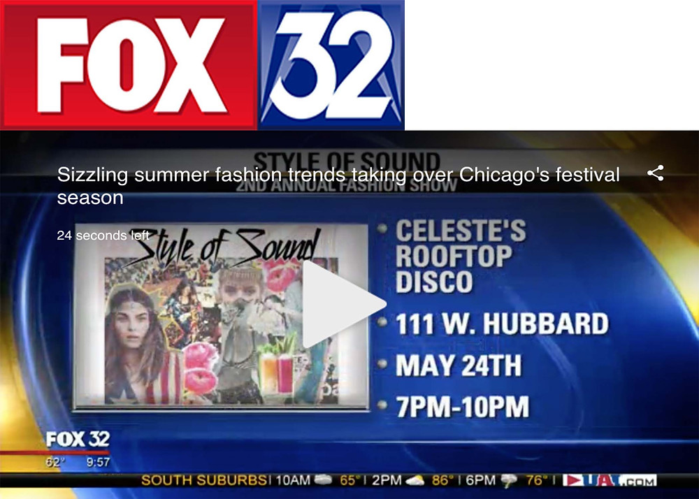 Sizzling summer fashion trends taking over Chicago's festival season Celeste Rooftop DISCO Chicago  2nd Annual Fashion Show Style of Sound 2018. Hottest Summer Fashion Trends