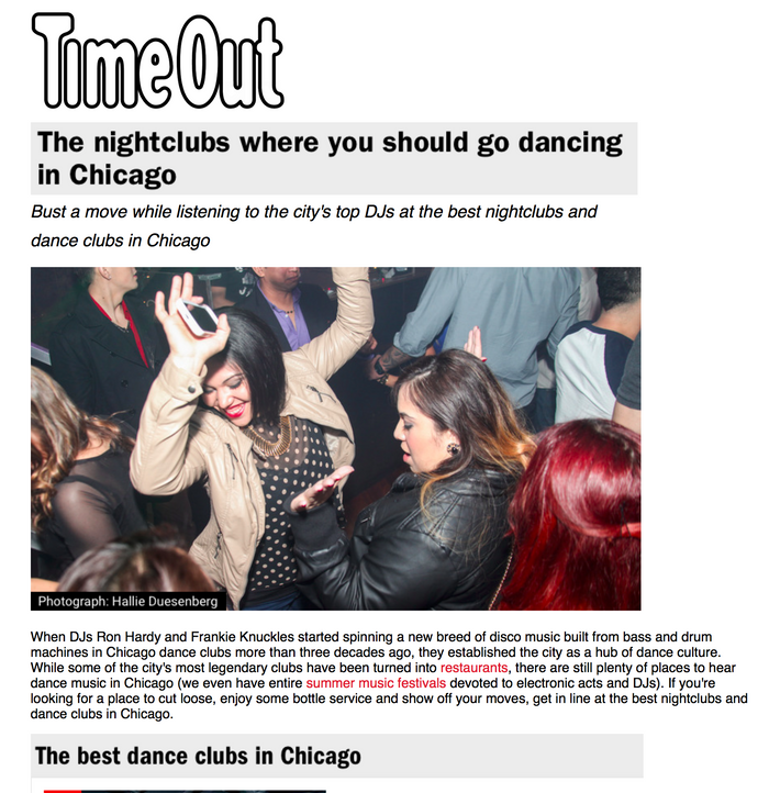 The nightclubs where you should go dancing in Chicago