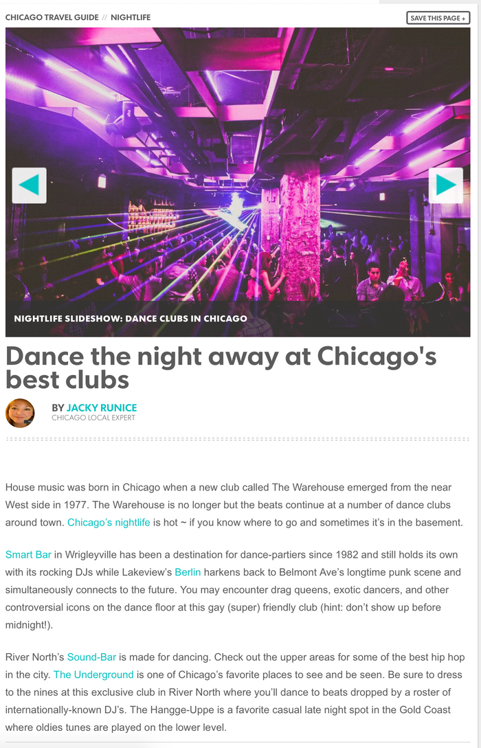 Dance the night away at Chicago's best clubs