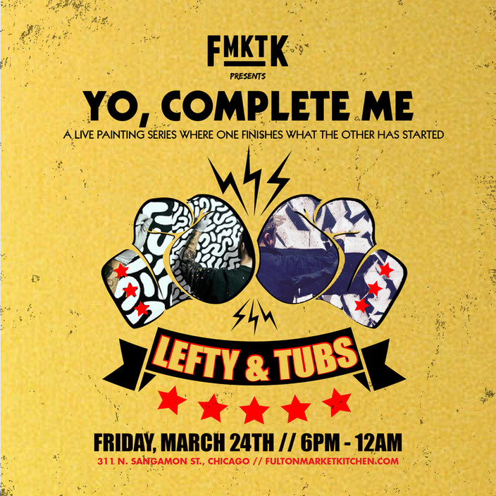 Yo, Complete me | Lefty vs Tubs