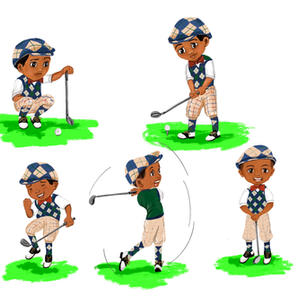 Golf Character Sketch