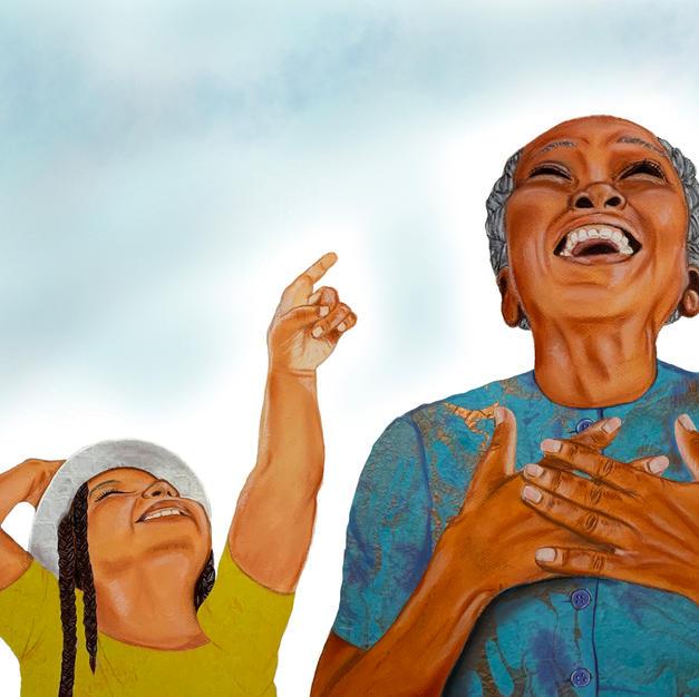 Joy and Grandmama