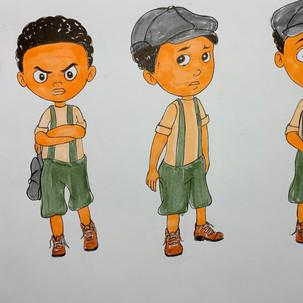 Koree Character Sketch