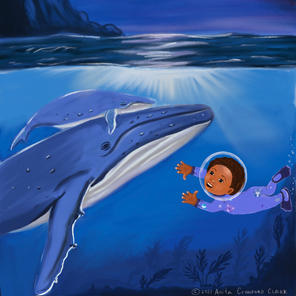 Zeb with whales