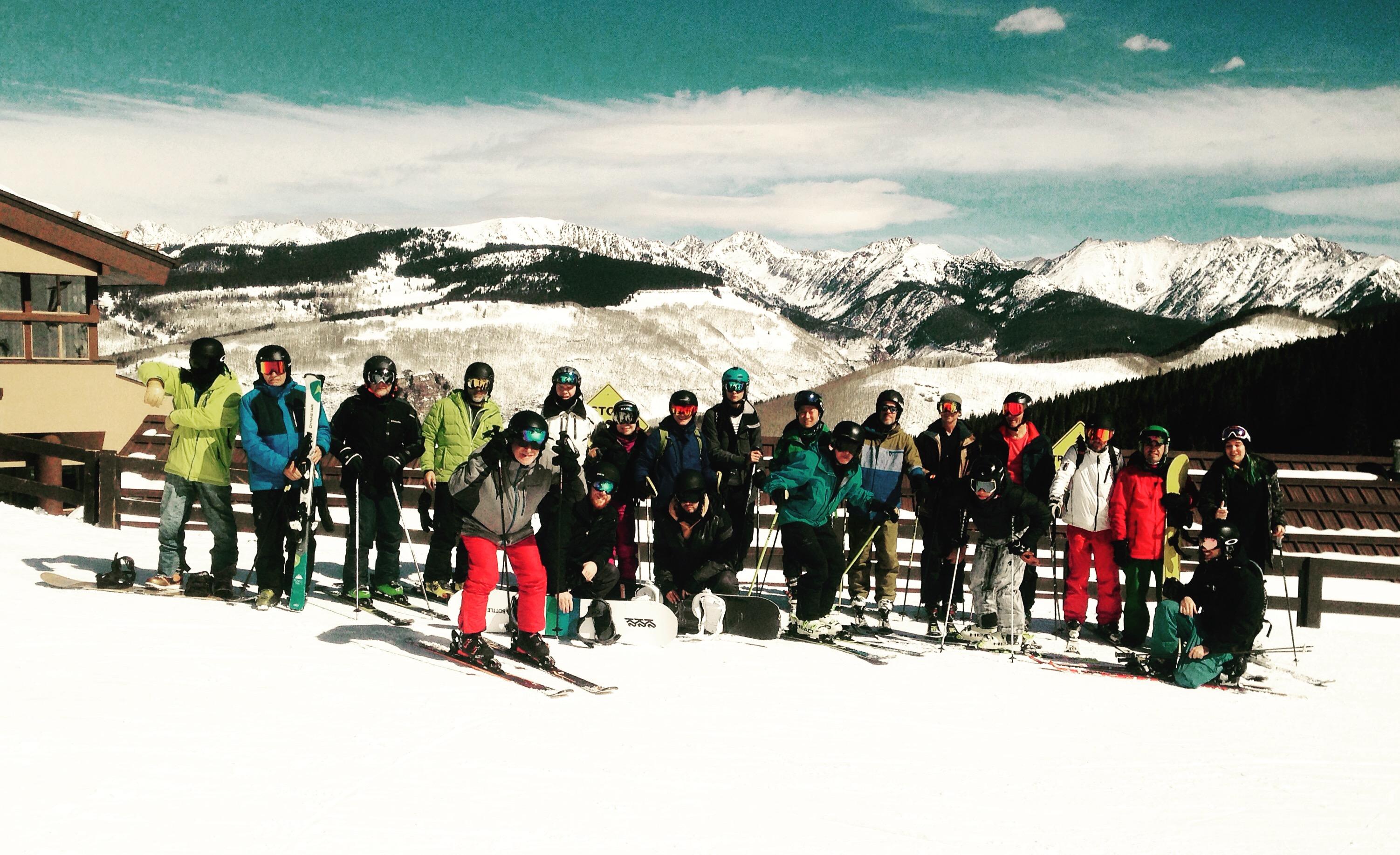 ski en aspen