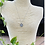 Thumbnail: FREE SPIRIT WHITE GOLD BUTTERFLY COIN NECKLACE