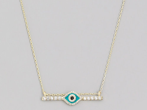 GLOW UP ALL SEEING EYE NECKLACE