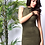 Thumbnail: TAKE ME OUT SUEDE OLIVE DRESS
