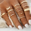 Thumbnail: CLEOPATRA MIDI RING SET
