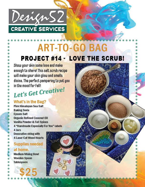 Art-to-Go   Love the Scrub!