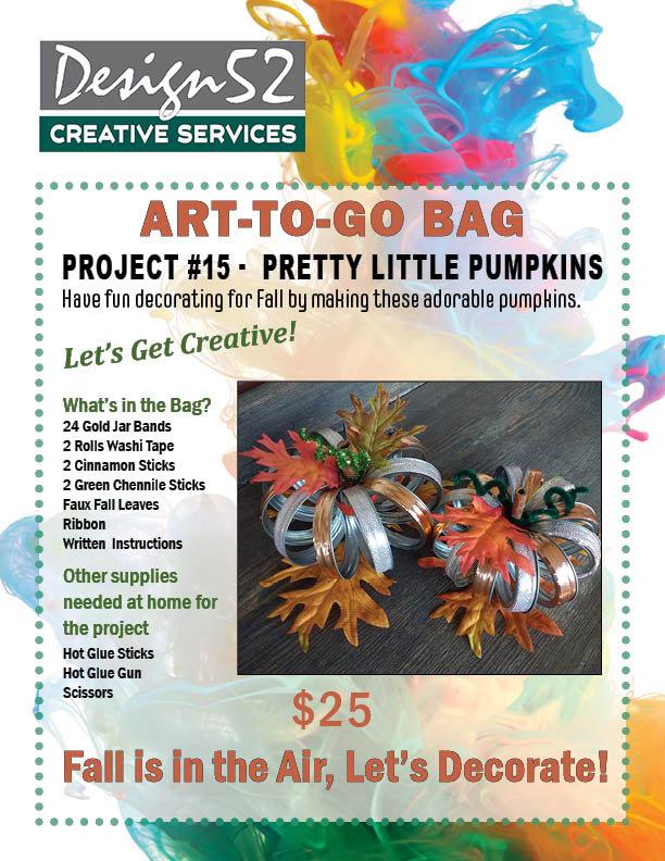 Art-to-Go   Pretty Little Pumpkins