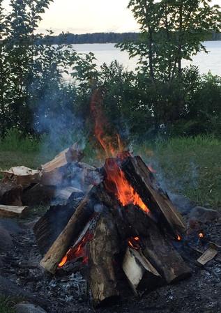 Fire in Firepit