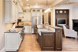 Kitchen cabinets different colors