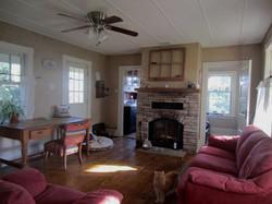shubie farmhouse living room fireplace