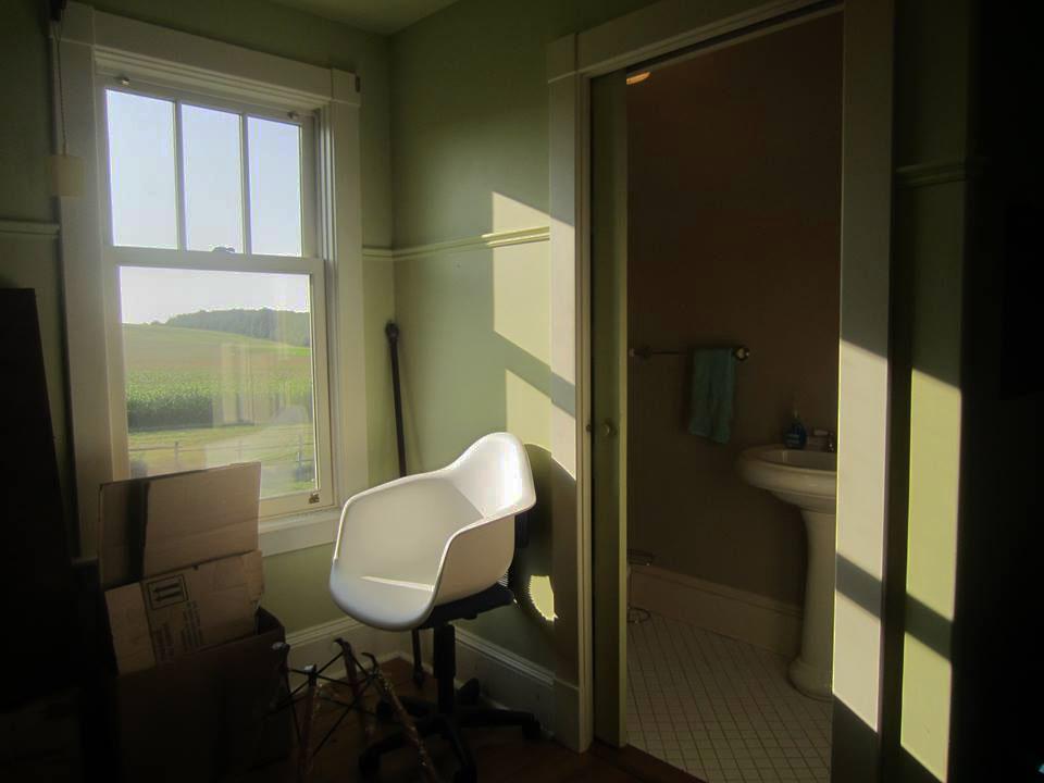 shube farmhouse powder room