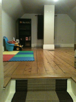 shubie farmhouse attic
