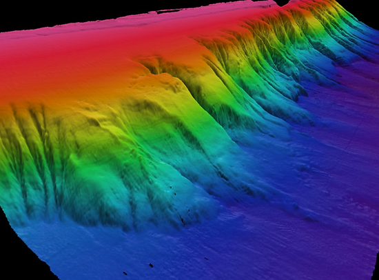 Great Barrier Reef Submarine Canyons and Landslides Part 1