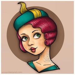 La mia befana #20s #burlesque #pinup #pi