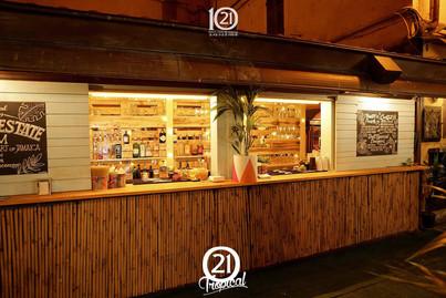 temporary bar 21TROPICAL, sanremo