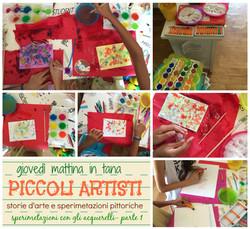 arte e sperimentazioni pittoriche