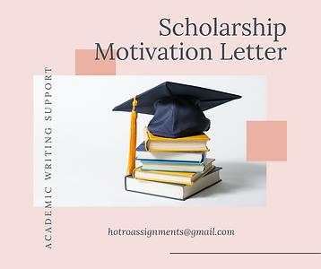 Viết thuê scholarshi motivation letter