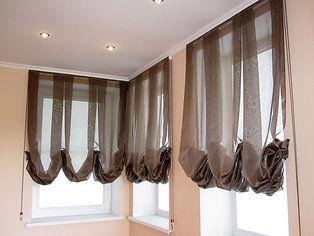 Австрийские шторы, Романские шторы