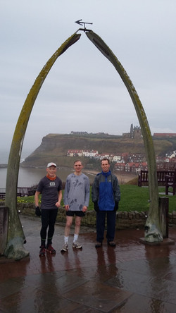 Morning run to the whale bones