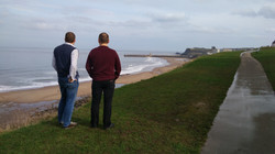Looking to Whitby harbour