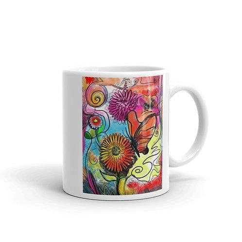 Floral Garden Mug