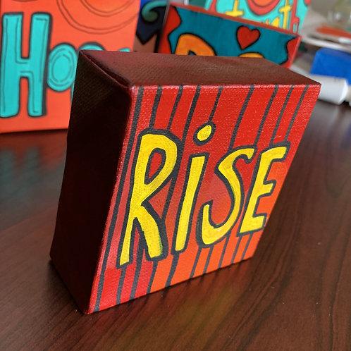Rise - Mini Painting