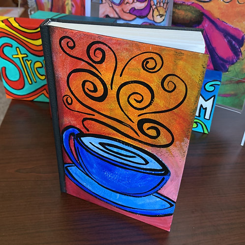 Coffee Cup Blank Journal