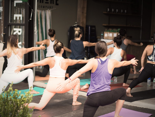 Yoga at work and how to make it happen